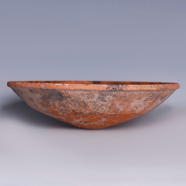 Exquisite Nabataean Egg-Shell Bowl with Decoration