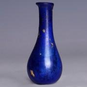 Elegant Roman Blue Glass Unguentarium