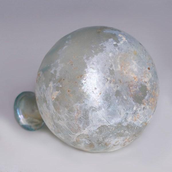 Roman Iridescent Globular Flask