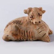Yuan Period Terracotta Mingqi of an Ox