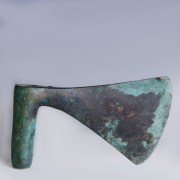 Luristan Large Bronze War Axe Head