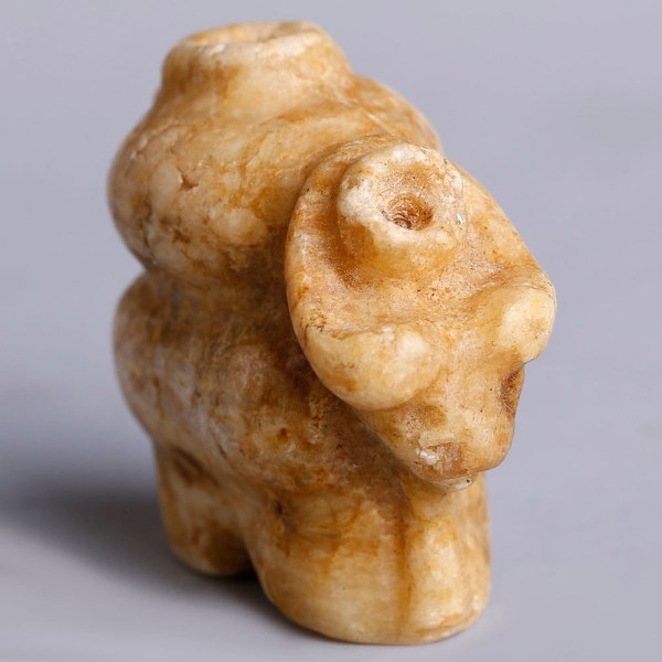 Ancient Mesopotamian Marble Cosmetic Container