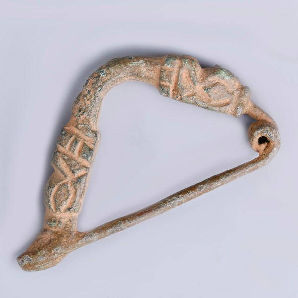 Phrygian Arched Bronze Brooch