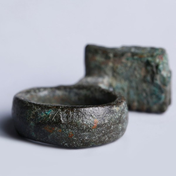 Roman Bronze Key Ring