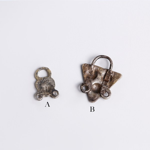 Selection of Silver Tudor Clothing Fasteners