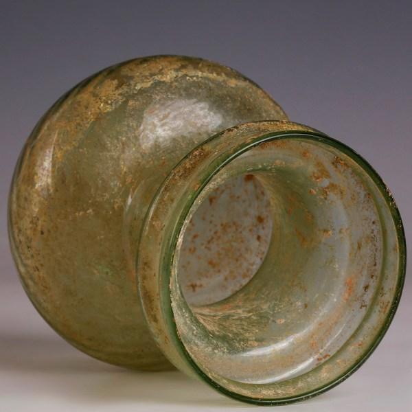 Large Ancient Roman Glass Jar