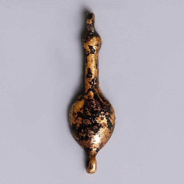 Ancient Egyptian Gold Nefer Amulet