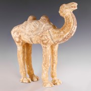 Chinese Tang Dynasty Terracotta Camel