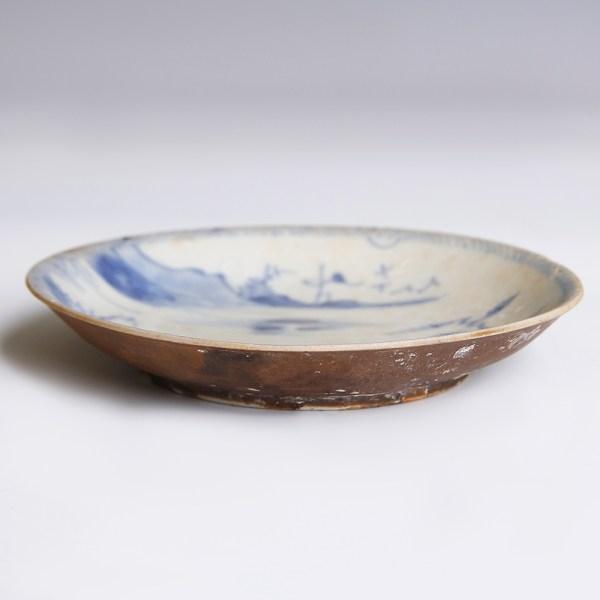 Kangxi Period Blue and White Saucer
