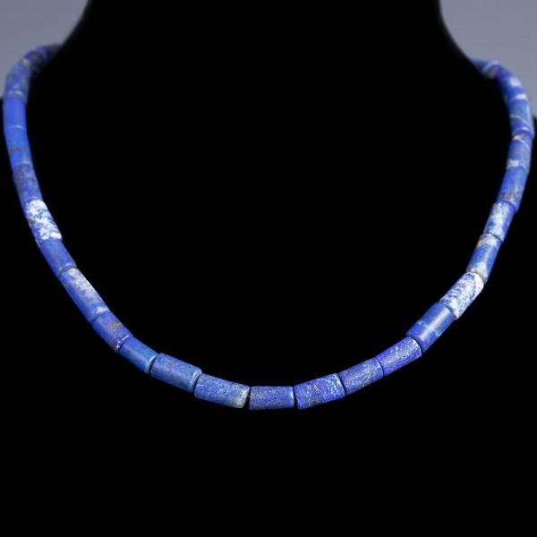 Western Asiatic Lapis Lazuli Necklace