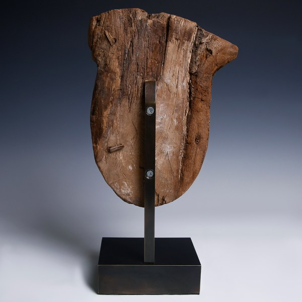 Ancient Egyptian Wooden Sarcophagus Mask