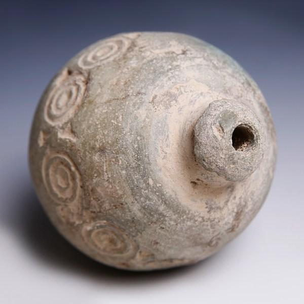Byzantine Hand Grenade with Geometric Designs