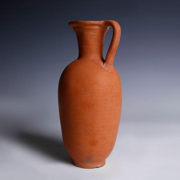 Nabataean Red Terracotta Flask