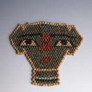Egyptian Faience Mummy Mask