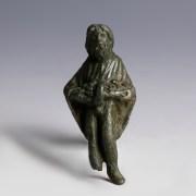 Ancient Roman Bronze Statuette of Priapus