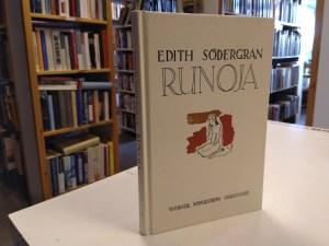 Södergran, Edith - Runoja