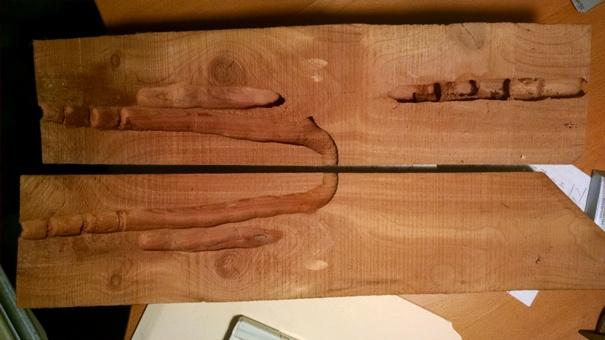 kayu tua diserang kumbang