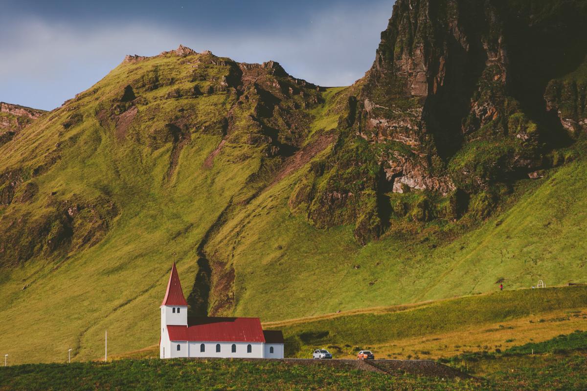 Vik på Island
