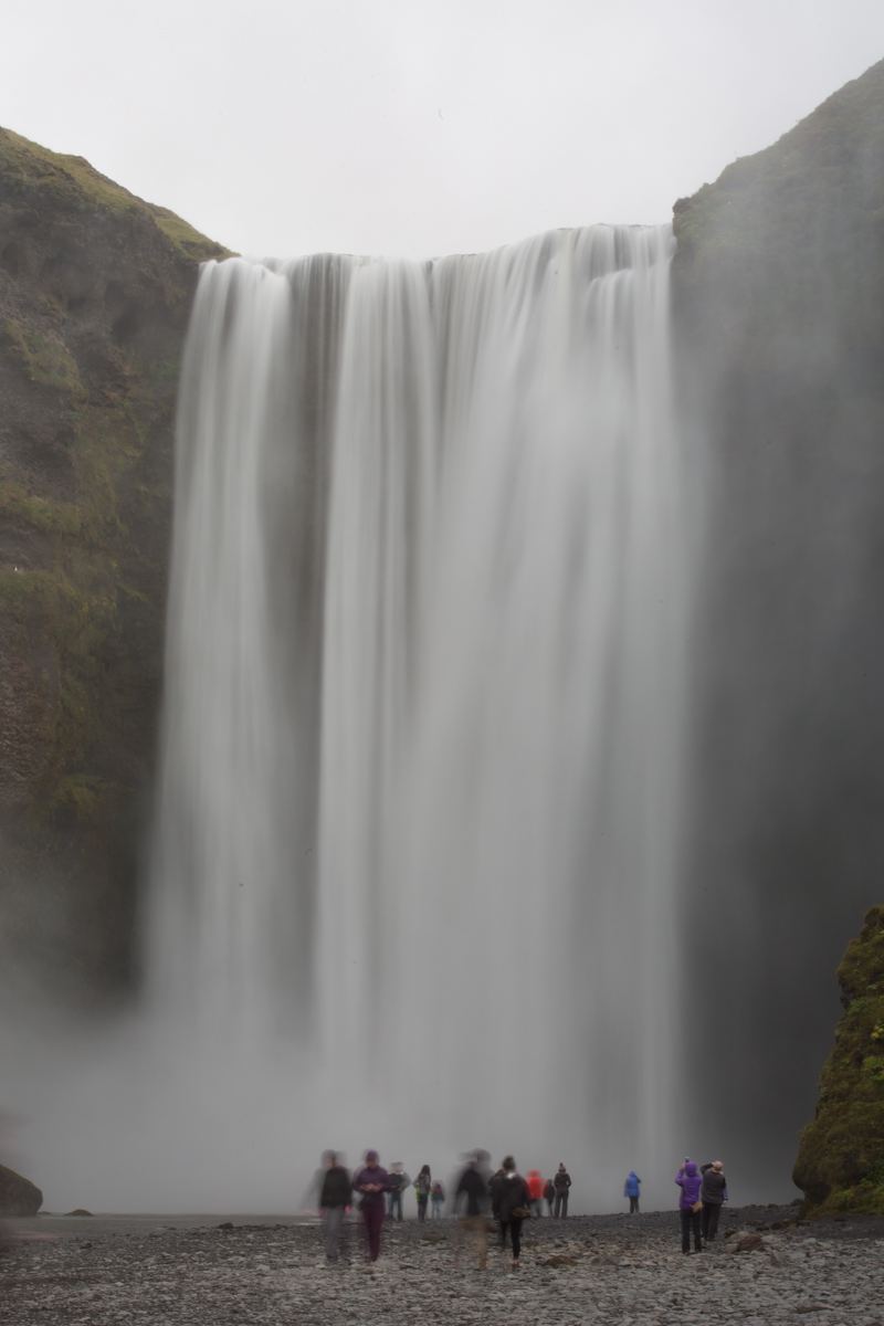 Fotografera vattenfall på Island