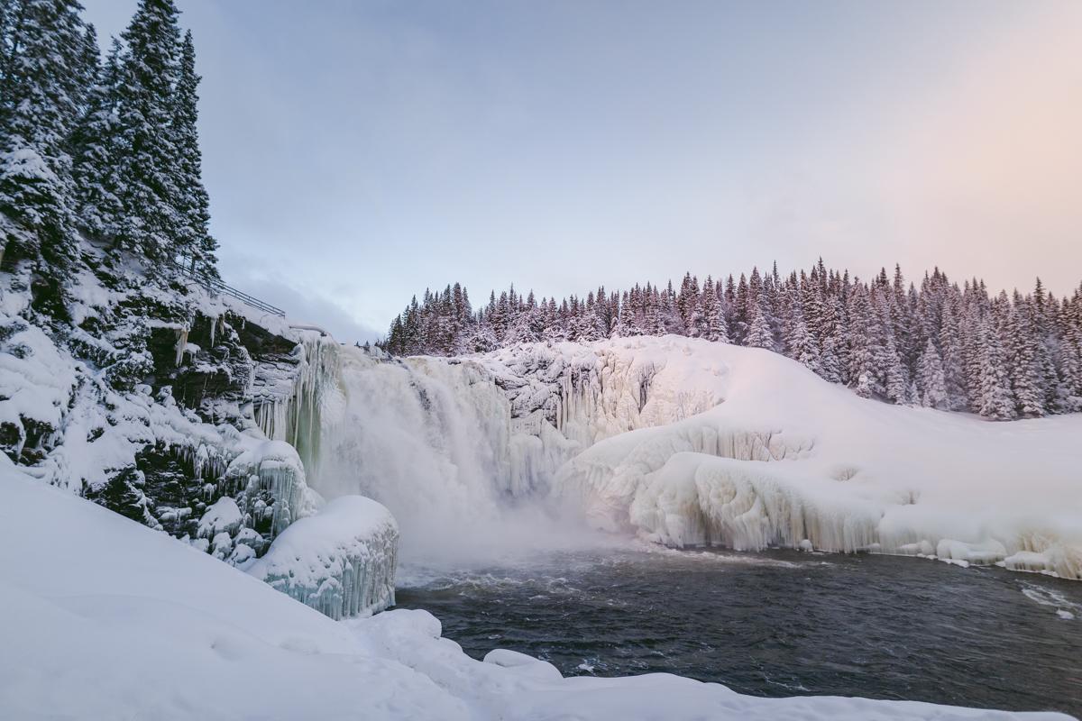 tännforsen åre vattenfall