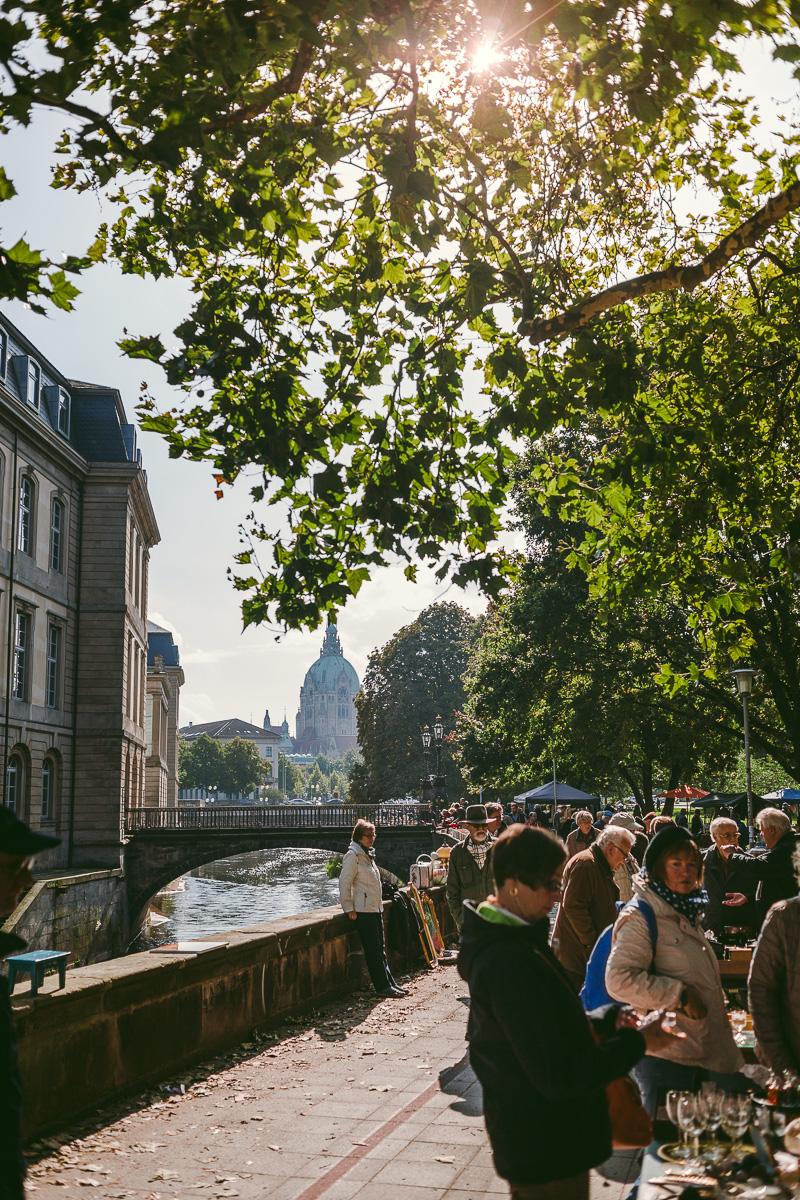 Loppis och te i Hannovers lilla Paris