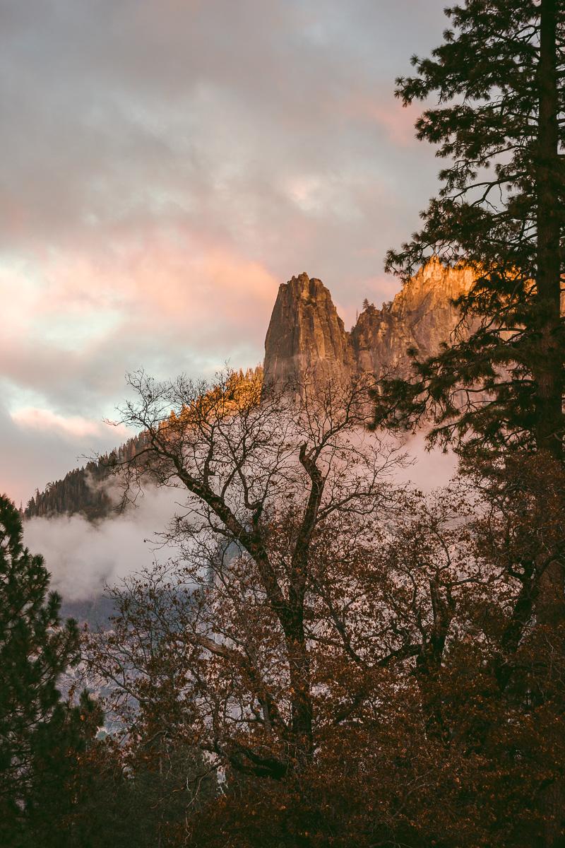 Dagboksnotering från ett höstigt Yosemite