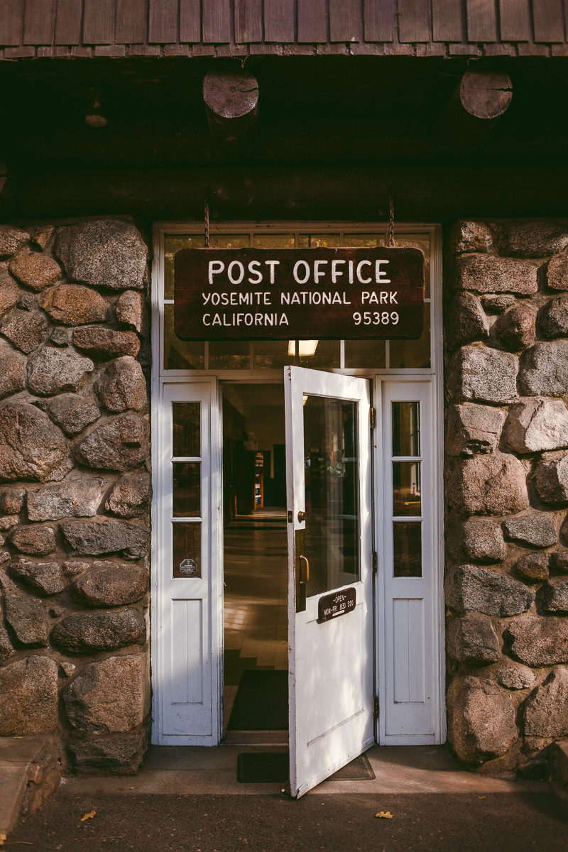 post office yosemite