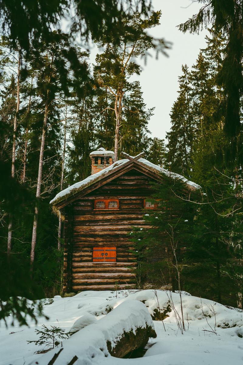 dagsutflykt från Stockholm jaktstuguskogen