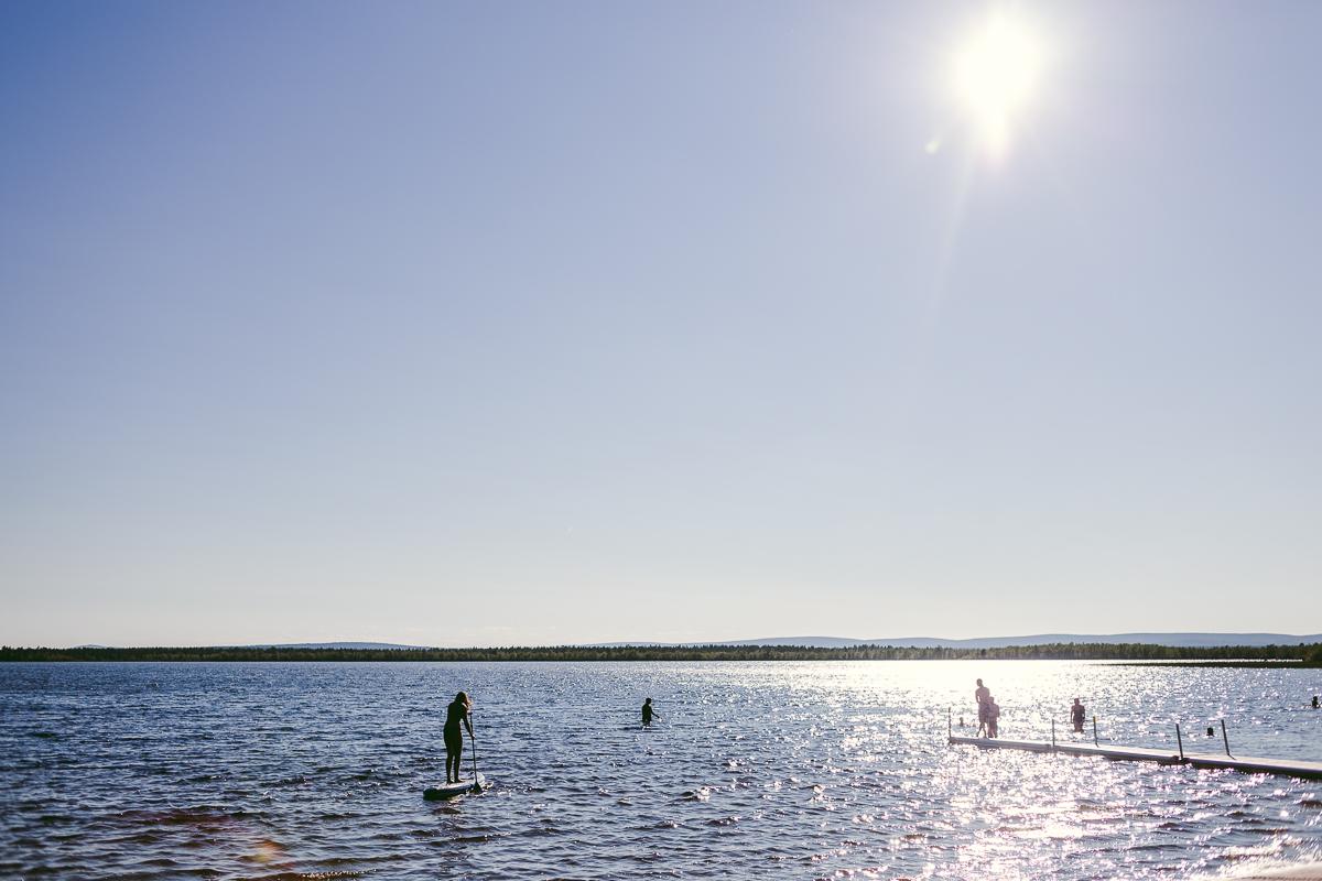 mertajärvi badstrand