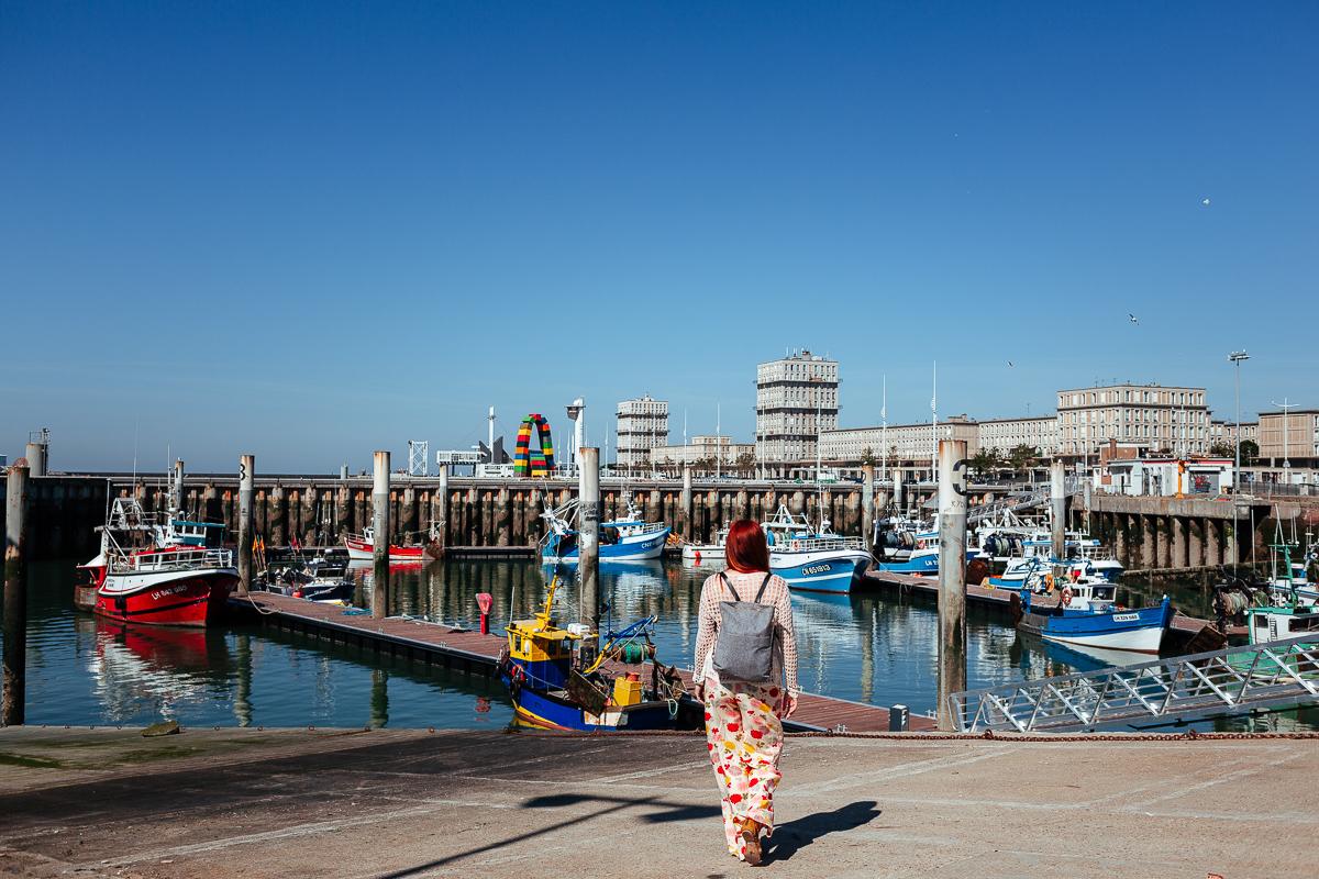 Hamnen Le Havre