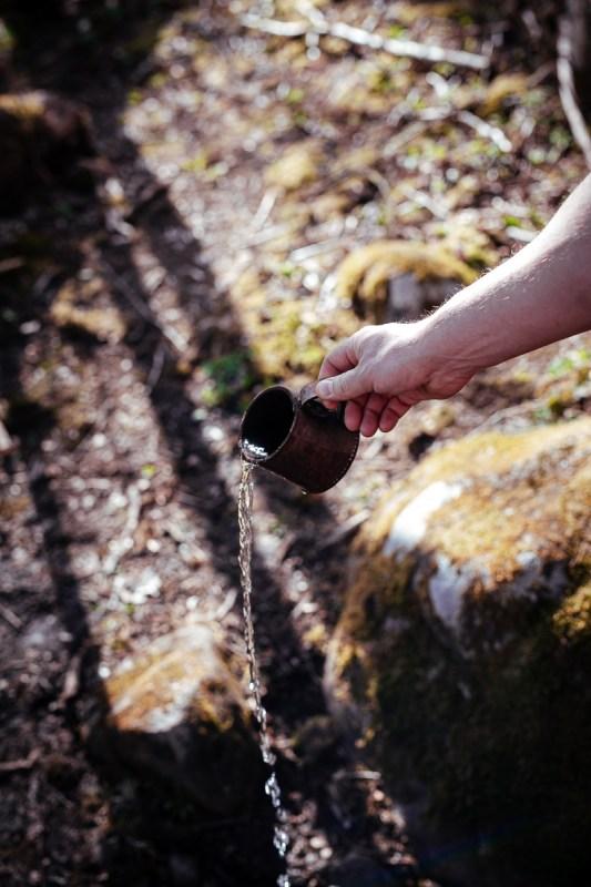kallkällan i garphyttans nationalpark örebro