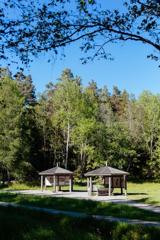 Sveriges nationalparker Tyresta nationarlpark entré