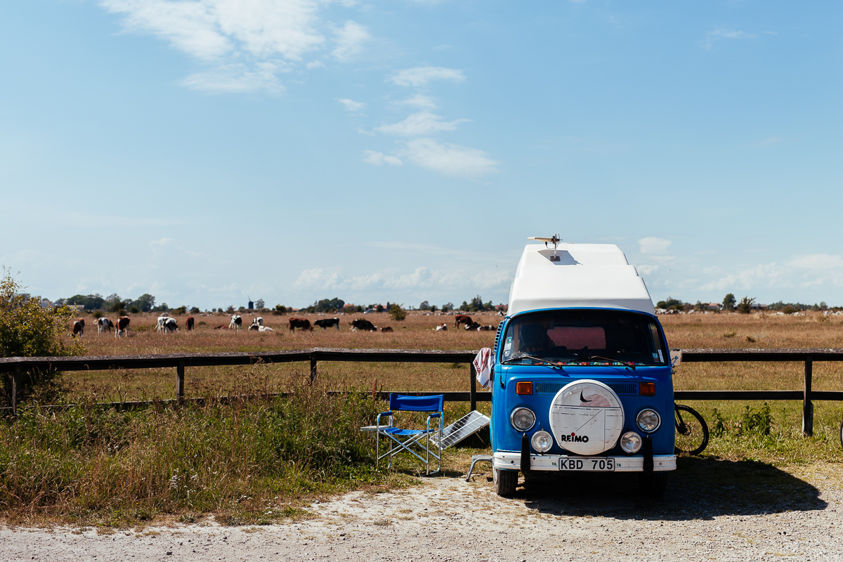campervan öland retro