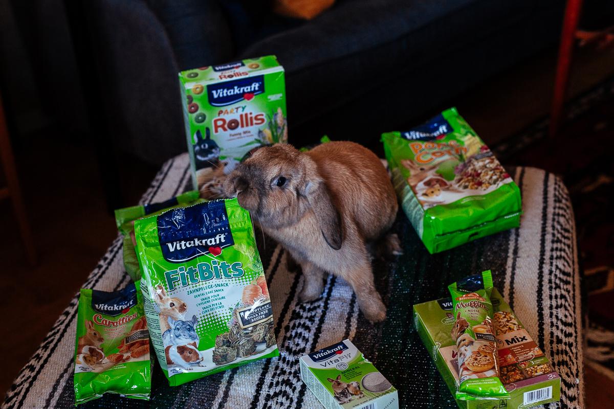 Foder till din kanin och gnagare från vitakraft