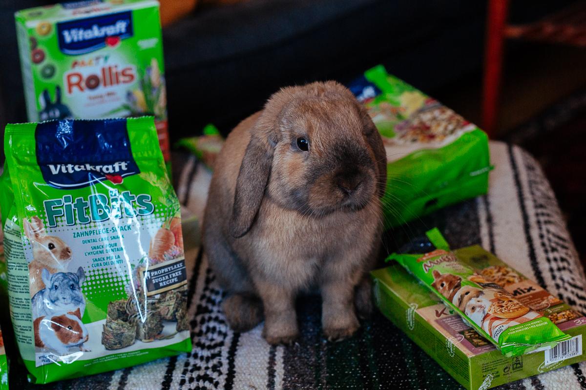 kanin vitakraft foder