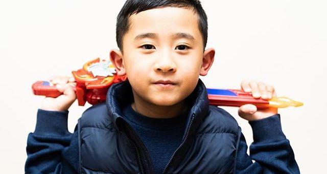 When Power Rangers is life! My son thinks he's Rody – aka Red Ranger.#powerrangersninjasteel #kidsbeingkids #kidsphotographer #portraitphotographer #melbournephotographer #sonyaustralia #a7iii