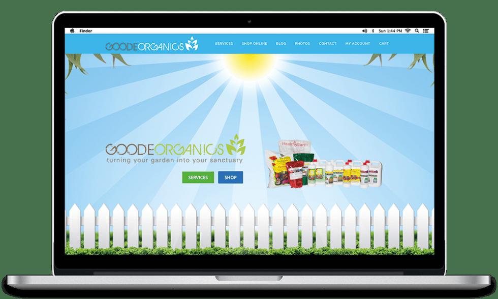 goode organics website