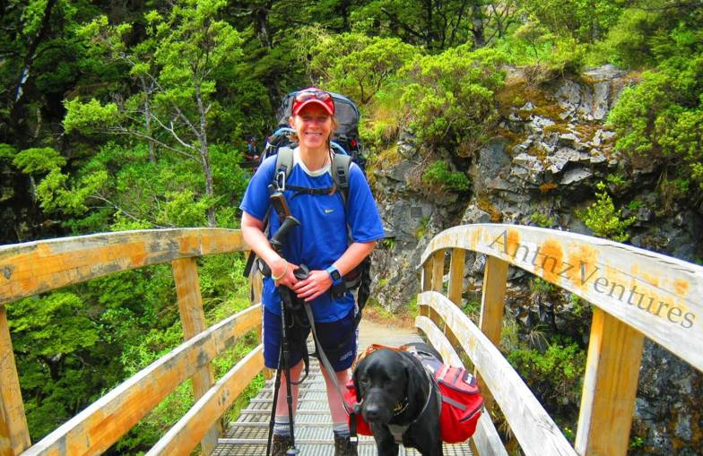 Antnz (left) and ADNZ Ben (right) on Rangiwahia Bridge