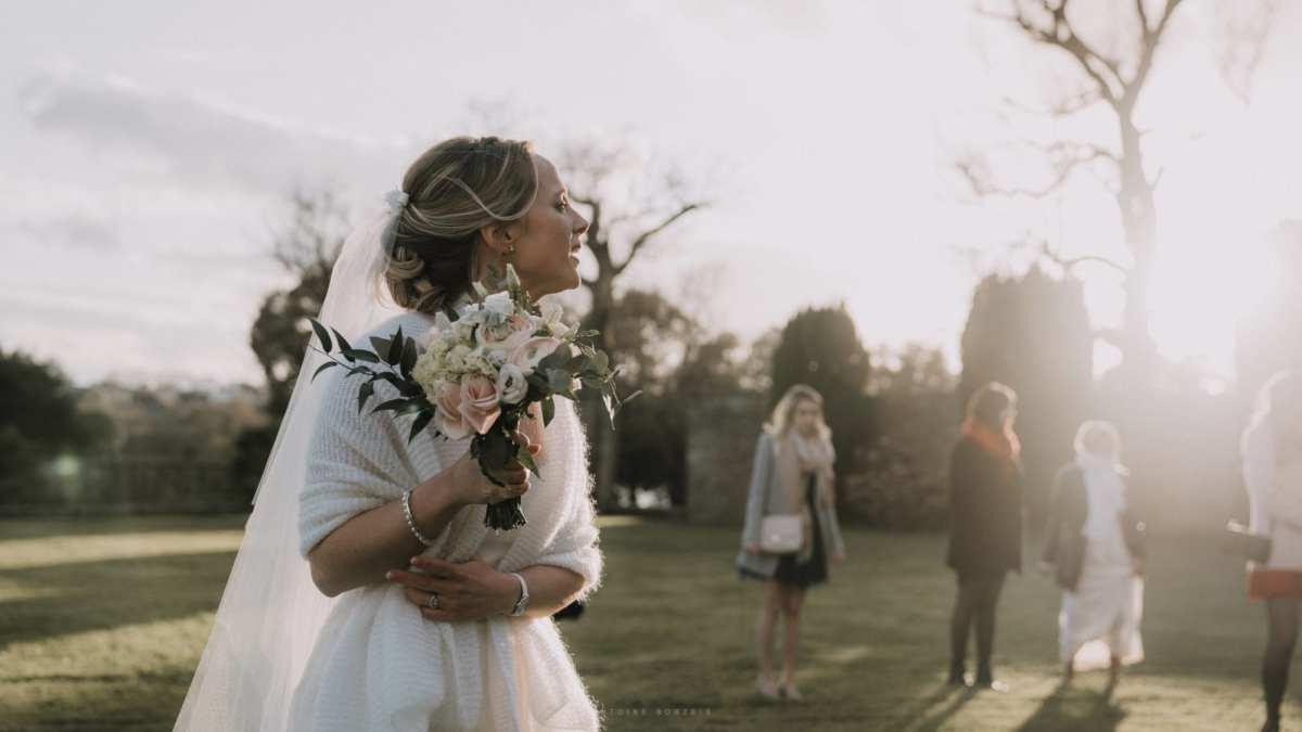 photo de mariage quimper domaine de lanniron