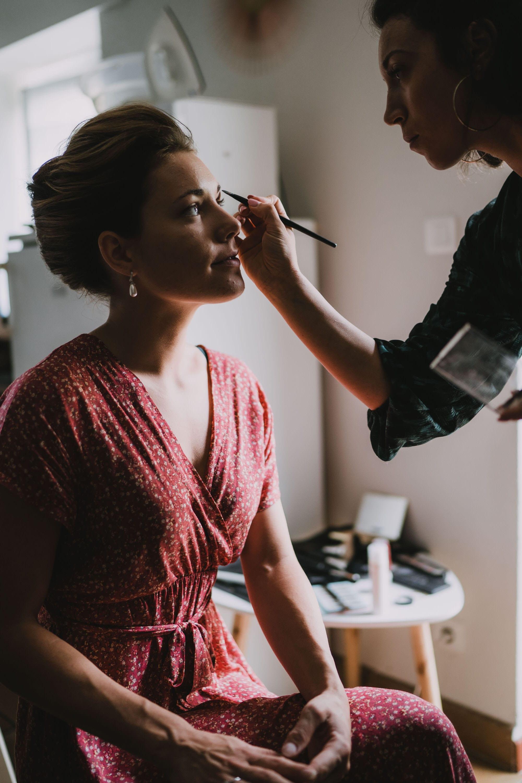 préparatif de la mariée mariage quimper