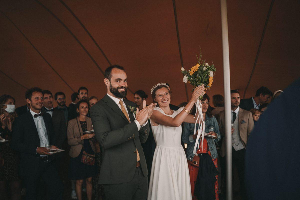 mariage dans le Finistère Photo de mariage à la Colonie de Trézien - Photographe de mariage à Brest - Antoine B