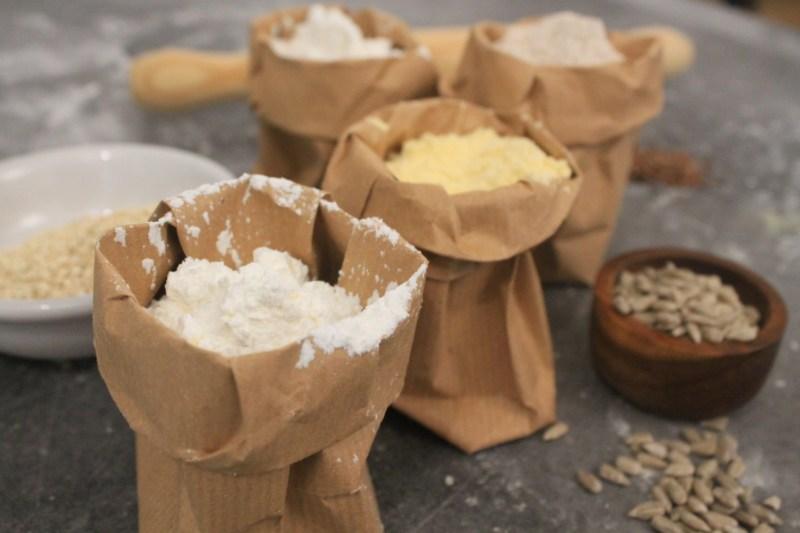 Mix casero de harinas para preparar galletas