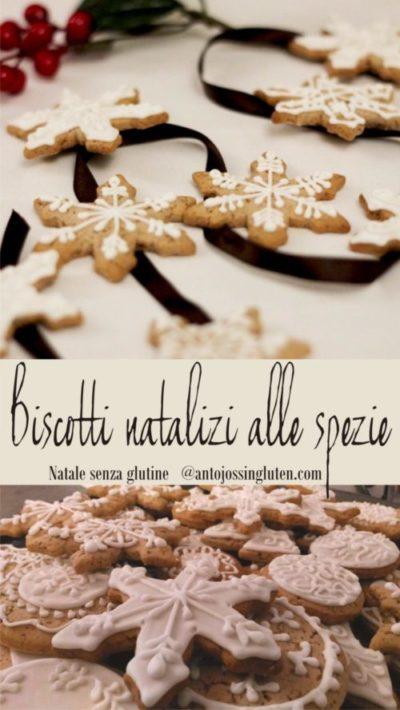 Biscotti natalizi alle spezie