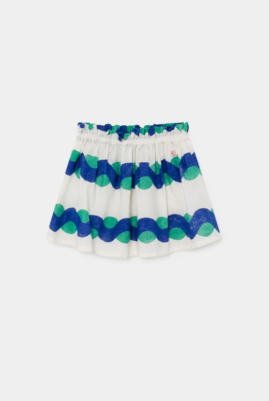bobo choses sea flared skirt