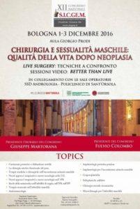 XII Congresso della Società Italiana di Chirurgia Genitale Maschile