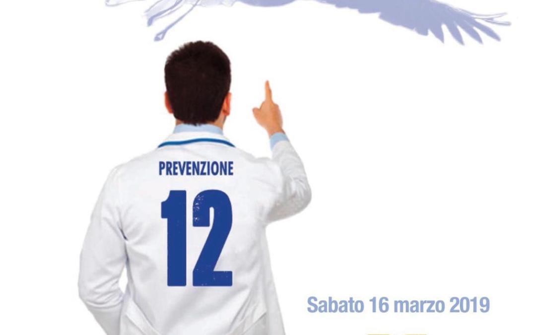 La Lazio scende in campo per la Prevenzione