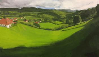 El-valle-de-Bascones.-Óleo-sobre-tabla-30x40-cm-2020