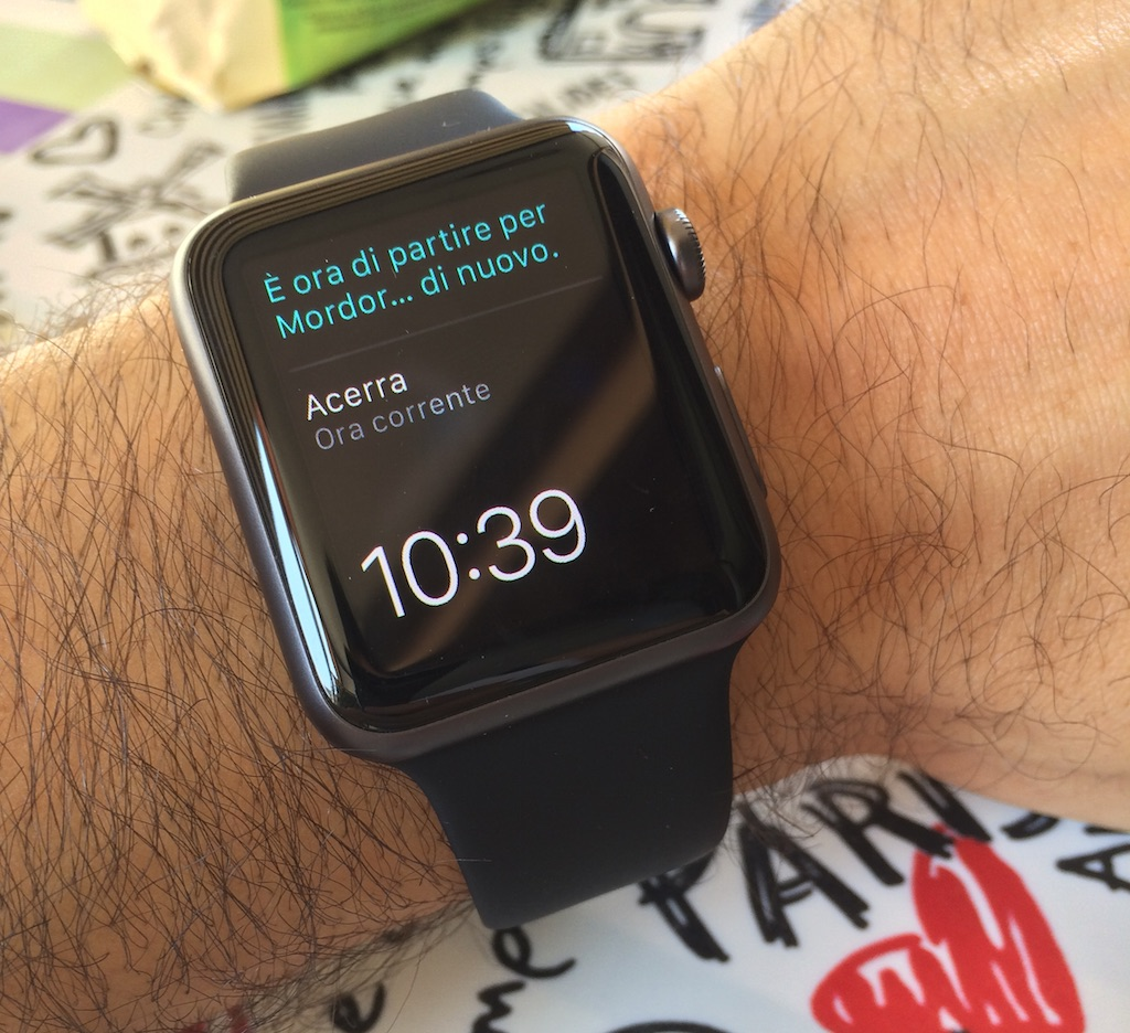 Cosa penso dell'Apple Watch