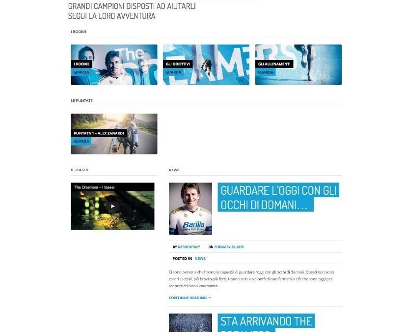Garmin coinvolge il pubblico con The Dreamers