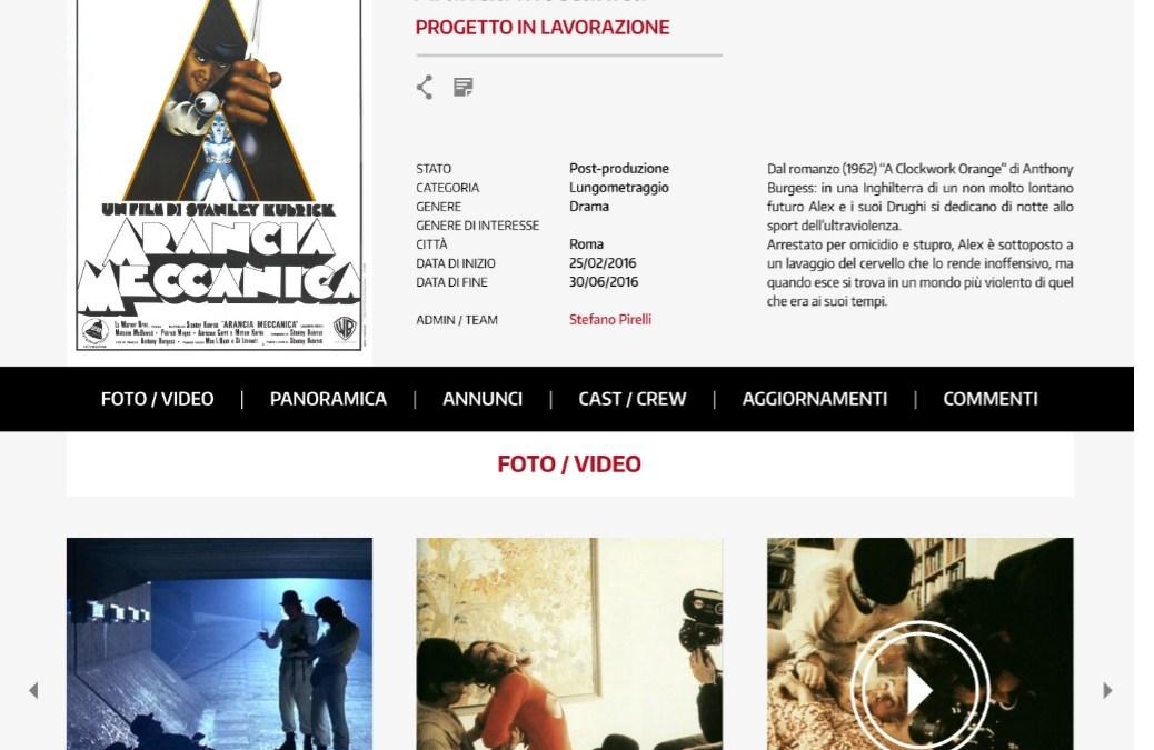 Vuoi fare un film? Arriva CIAKLIST la piattaforma che mette in rete i professionisti dell'audiovisivo